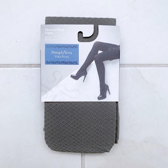 6a0b6c9be64ec Simply Vera Vera Wang Accessories | Vera Wang Textured Tights Nwt ...